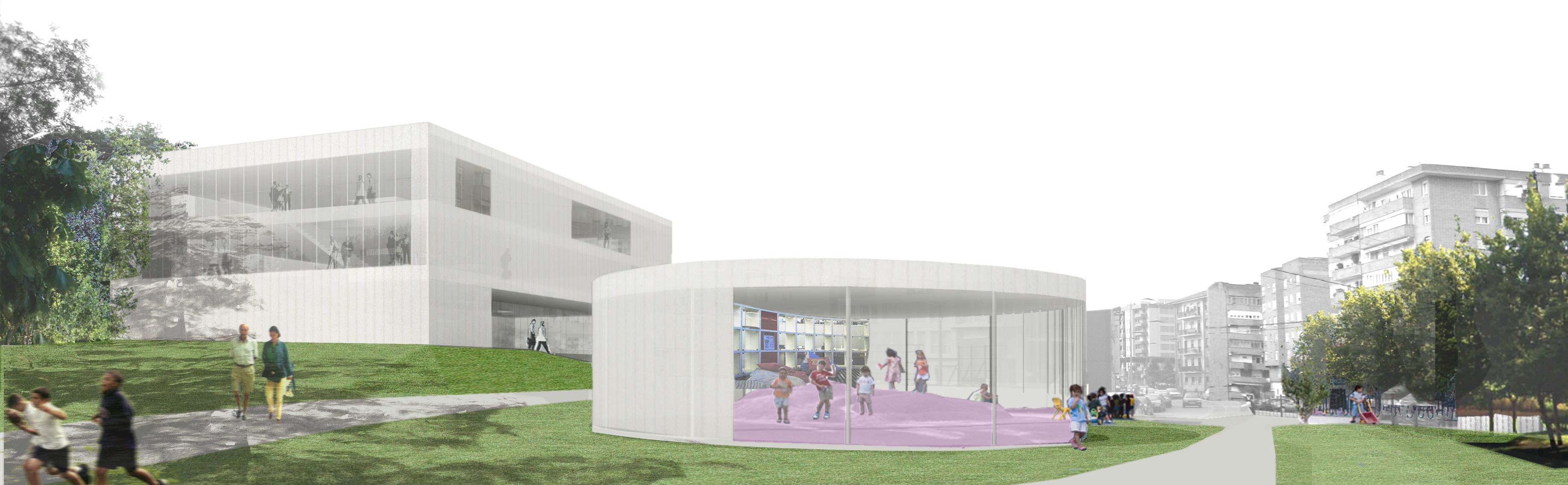 Centros educativos a6 ingenier a for Edificios educativos arquitectura
